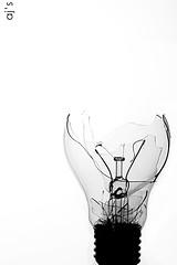 BreaK The OLD iDea !~ (* AJ  *) Tags: lighting blackandwhite bw white black broken lamp monochrome digital canon studio aj eos break photographer 1855mm 1855 dslr soe amna blueribbonwinner softboxes strobist rebelxti superbmasterpiece diamondclassphotographer flickrdiamond goldstaraward amnaj