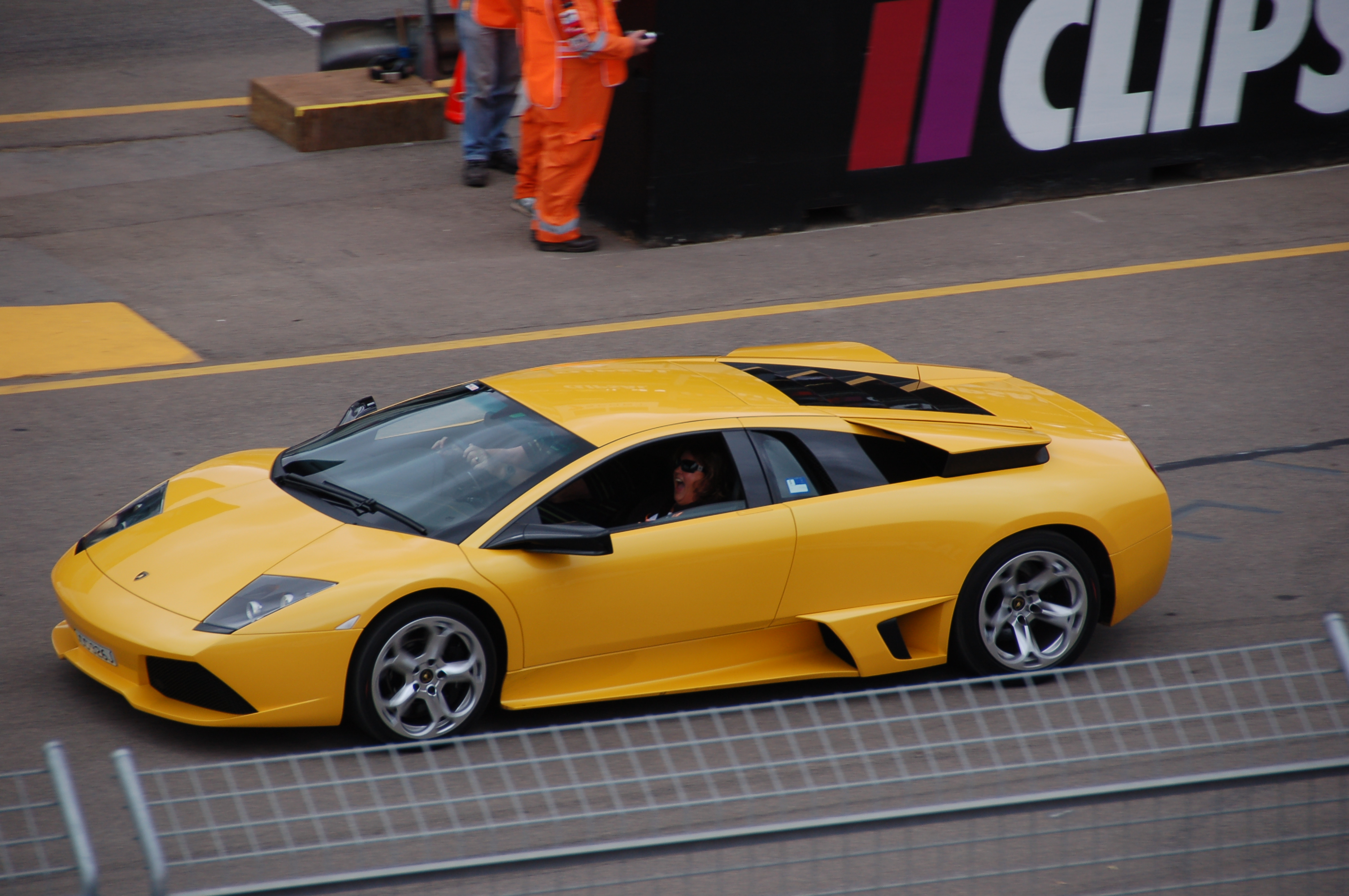 LP640, Gallardo Spyder,