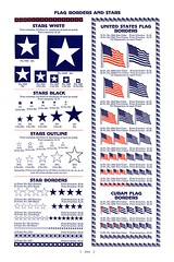 Stars | Flags (Depression Press) Tags: blue red usa white silhouette illustration america vintage print logo stars typography design us 1930s election graphic eagle drawing united president politics cuba ornament seal badge printing spindler americana states letterpress republican patriotism 2008 democrat cuts specimen ballot barnhart cubanflag 2008election depressionpress typecut typecuts