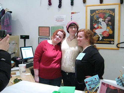 Kirstin, Megan and Zoe