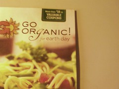 go organic just for earth day and eat non orga...