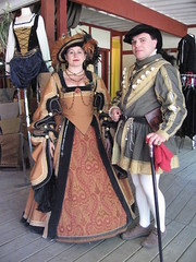 Brandon Siblings (maritabeth) Tags: people festival costume brandon tudor historical faire scarborough renfaire renaissance 16thcentury garb scarboroughfaire scarboroughrenaissancefestival historicalclothing