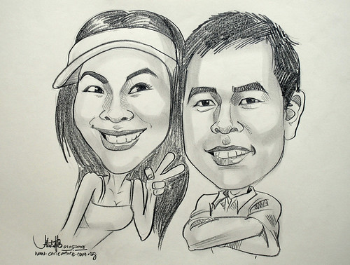 caricatures pencil 010508