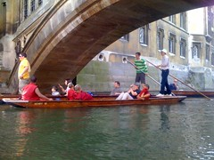 Monks in a punt!