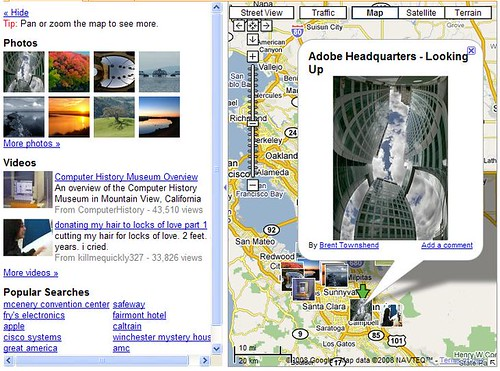 Google Map Pictures, Expanded View