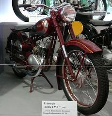 Triumph BDG 125 H 1952 (stkone) Tags: classic museum vintage germany deutschland motorcycle nuremburg nürnberg motorrad industriemuseum