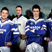Players L-R James Baugh, Darragh Carroll, Shane Roche, Mark Finnegan, Stephan Sheridan