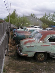 Rusty Car Storage (by Dave_7) http://flickr.com/photos/daveseven/2522577075/