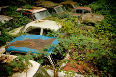 Autofriedhof Grbetal (Rolf F.) Tags: auto old friedhof classic cars cemetery car trash yard canon vintage lost eos rebel schweiz switzerland interestingness interesting junk rust decay rusty dump explore forgotten 1750 oldtimer bern 28 junkyard autos left tamron f28 carcemetery autofriedhof cardump historischer xti tamron1750 1750mm tamron1750mm 400d grbetal kaufdorf