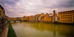 The Arno Runs Through It (Travel by WestEndFoto) Tags: agenre export artificial bridge mfnikkor20mmf28ais flickrtravelbywestendfoto italy bsubject 20150606pjfamily tuscany travel flickr cityscapephotography flickrtravelflorence popular dgeography flickrwestendfoto fother florence firenze toscana it