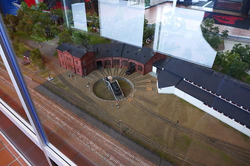 Model of Finnish Railway museum