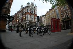 Cambridge Circus (guioconnor) Tags: london fisheye