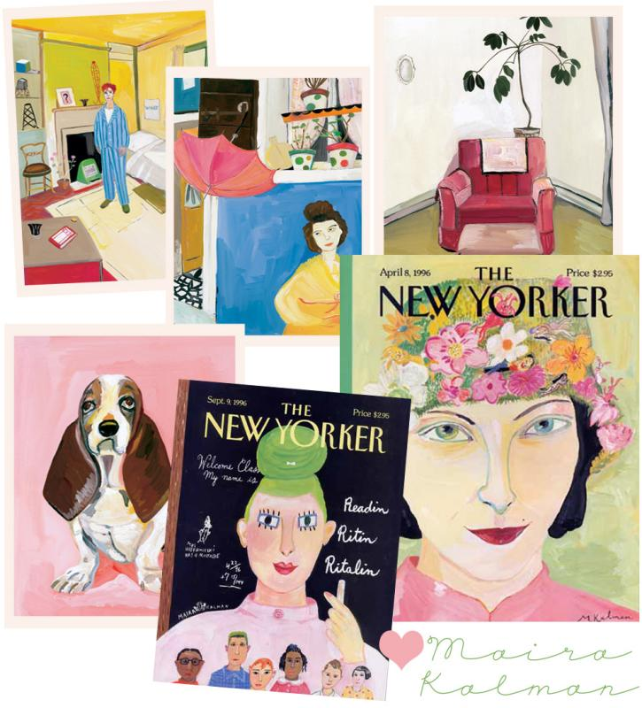 Maira Kalman Illustrations