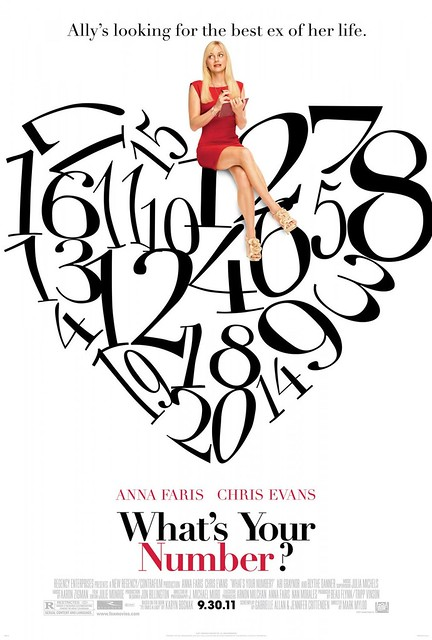WHAT'S YOUR NUMBER? movie poster