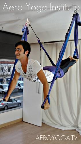 Aero Yoga en España y Argentina