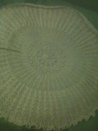 Shetland Pi shawl