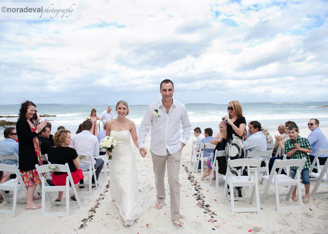 Jervis Bay Beach wedding 154