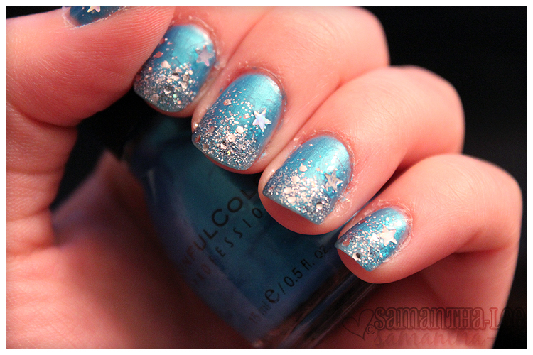 sinful colors - love nails & stars