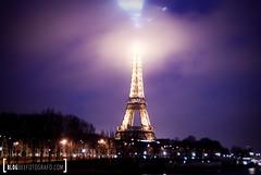 Torre Eiffel (Blog del Fotgrafo) Tags: paris noche torreeiffel francia