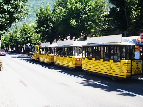trenino giallo tirano