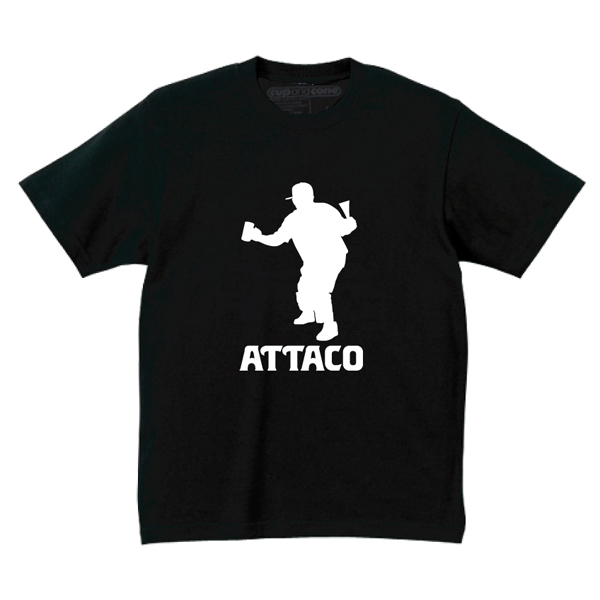 ATTACO 14th Anniv. Tee by cup and cone