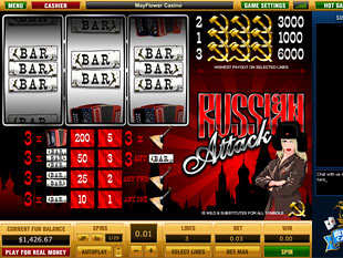 Russian Attack slot game online review