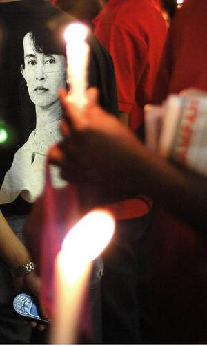 Myanmar Vigil - KLCC Malaysia
