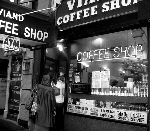 Vintage coffee shop.