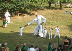 PA200063_1 (evrik) Tags: philadelphia giant theater puppet pennsylvania wikipedia handshake pageant clarkpark peoplehood sprucehill spiralq