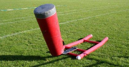 Blockschlitten American Football