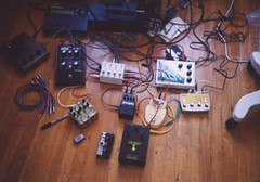Studio 2004 (pet sounds and villains) Tags: music 2004 studio live gear pedals noise covey merediths aodl