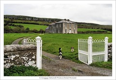 Craggy Island Parochial House (HaukeSteinberg.com) Tags: ireland dogs tv gate published clare location irland explore limestone burren fatherted craggyisland ire nto parochialhouse noshington