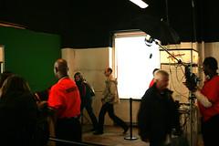 Taking greenscreen photos