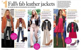 Fashion leather jackets, click to enlarge