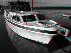 Boat 3D (Little Boffin (PeterEdin)) Tags: red color colour green marina boats lumix harbor stereoscopic 3d eyes sailing harbour sails cyan anaglyph stereo forth yachts motorboats opticalillusion cruisers firthofforth southqueensferry anaglyphs portedgar panasoniclumix stereoimages 3dpictures dmctz3 tz3 panasonictz3 panasonicdmctz3 forthesturary stereopictures