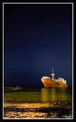 Naufragio en Arrecife II (Popewan) Tags: sea night mar lanzarote nocturna arrecife superbmasterpiece thegreatshooter