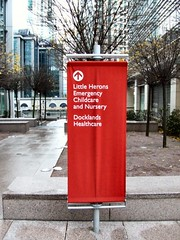 Docklands Healthcare sign