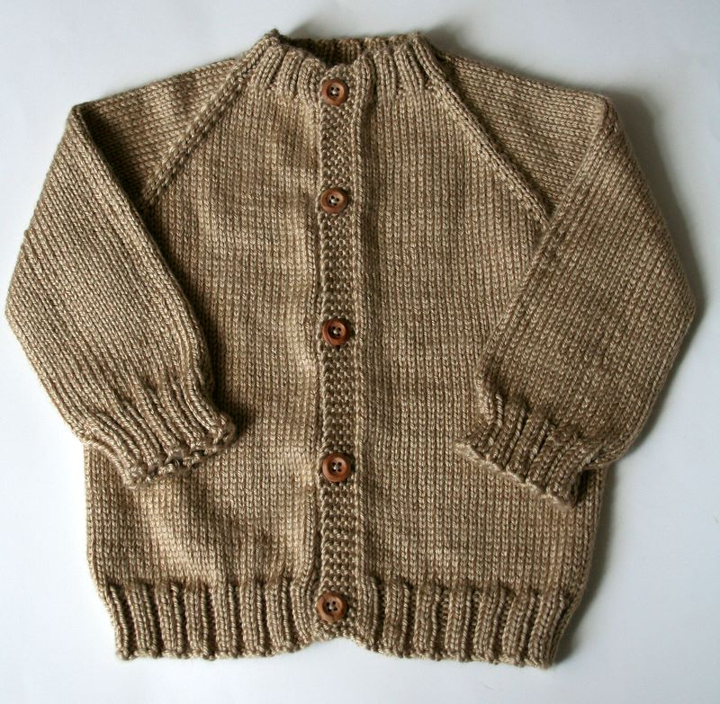 Knit Top Down Sweater Pattern Free : FO   Top-Down Seamless Raglan Baby Sweater!   Vickilicious Knits