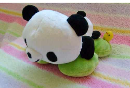 San-X Pandy Happy Panda Plush by sugarbunnies379.