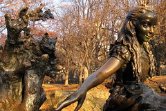 NYC - Central Park: Alice in Wonderland (wallyg) Tags: park nyc newyorkcity sculpture ny newyork mushroom statue children nhl alice centralpark manhattan landmark gothamist publicart dinah teaparty aliceinwonderland lewiscarroll delacorte chesirecat nationalhistoriclandmark nationalregisterofhistoricplaces usnationalhistoriclandmark nrhp margaritadelacortememorial georgedelacorte josedecreeft usnationalregisterofhistoricplaces newyorkcitylandmarkspreservationcommission nyclpc sceniclandmark