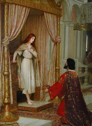 Edmund Blair Leighton - King Copetua and the Beggar Maid