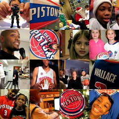 good stuff. (artsy_T) Tags: santa christmas collage kids dinner happy michigan families detroit event pistons ribboncutting ronaldmcdonaldhouse detroitpistons