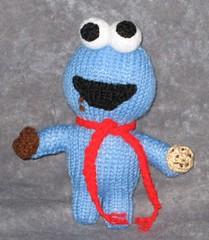 Amigurumi Cookie Monster : Ravelry: Cookie Monster Peep Amigurumi Knitting Pattern ...