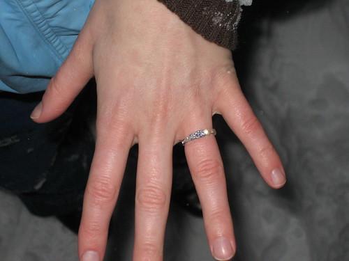 Angela's new ring!