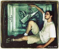 self (ylfaure) Tags: france self vintage french photo marseille xpro crossprocessed foto autoportrait retro crossprocessing frame tableau 2007 yohan 写真 yohann фото ylf yoanloicfaure ylfaure yoanfaure ashpipe ©yoanloicfaure