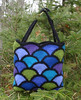 Felted Stained Glass Tote crochet