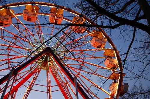 Ferris Wheel in Mid-January