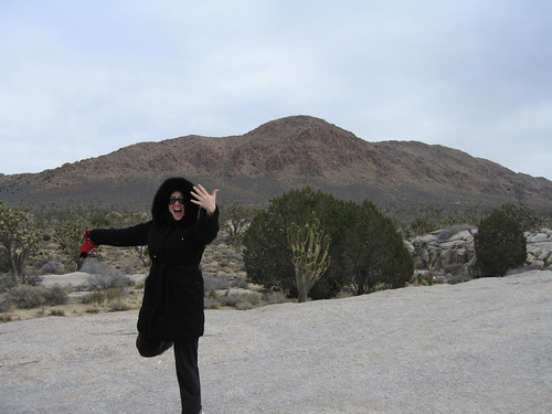 The ring on the spot in Mojave National Preserve!