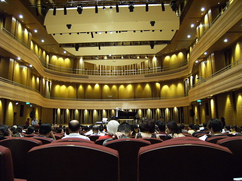 Concert Hall in NUS Yong Siew Toh Conservatory