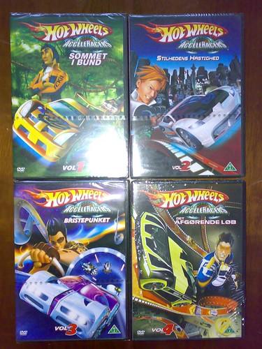 "Hot Wheels - ""Acceleracer"" series"